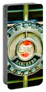 1973 Ford Ranchero Grille Emblem -0769c Portable Battery Charger