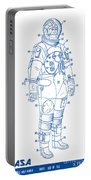 1973 Nasa Astronaut Space Suit Patent Art 2 Portable Battery Charger