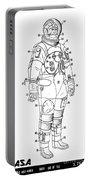 1973 Nasa Astronaut Space Suit Patent Art 3 Portable Battery Charger