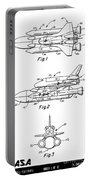1975 Nasa Space Shuttle Patent Art 3 Portable Battery Charger