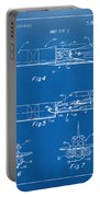 1975 Space Vehicle Patent - Blueprint Portable Battery Charger by Nikki Marie Smith