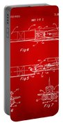 1975 Space Vehicle Patent - Red Portable Battery Charger