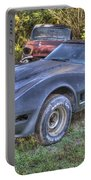 1977 Corvette Black Portable Battery Charger