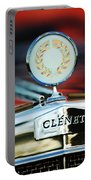 1979 Clenet Hood Ornament -176c Portable Battery Charger
