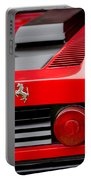 1979 Ferrari Taillight Emblem -0378c Portable Battery Charger