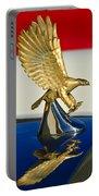 1986 Zimmer Golden Spirit Hood Ornament Portable Battery Charger