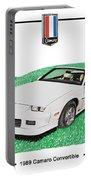 1989 Camaro Convertible Portable Battery Charger