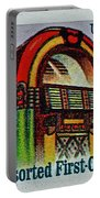 1995 Jukebox Stamp Portable Battery Charger