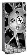 1997 Ferrari F 355 Spider Wheel Emblem -125bw Portable Battery Charger