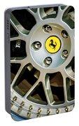 1997 Ferrari F 355 Spider Wheel Emblem -125c Portable Battery Charger
