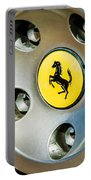 1997 Ferrari F 355 Spider Wheel Emblem -201c Portable Battery Charger