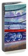 1999 Hiawatha Train Stamp Portable Battery Charger