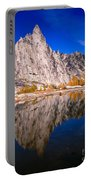 Prusik Peak On Gnome Tarn Portable Battery Charger