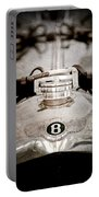 1925 Bentley 3-liter 100mph Supersports Brooklands Two-seater Radiator Cap Portable Battery Charger