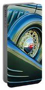 1933 Pontiac Spare Tire -0431c Portable Battery Charger