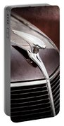 1937 Ford Hood Ornament Portable Battery Charger