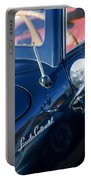 1941 Lincoln Continental Convertible Emblem Portable Battery Charger
