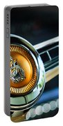 1949 Plymouth P-18 Special Deluxe Convertible Steering Wheel Emblem Portable Battery Charger