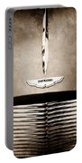 1955 Aston Martin Grille Emblem Portable Battery Charger