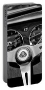 1965 Lotus Elan S2 Steering Wheel Emblem Portable Battery Charger by Jill Reger