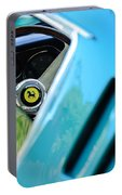 1966 Ferrari 275 Gtb Steering Wheel Emblem Portable Battery Charger