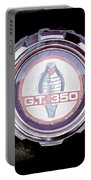 1966 Ford Mustang - Cobra Gt 350 Emblem Portable Battery Charger