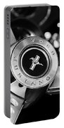 1969 Ford Mustang Mach 1 Steering Wheel Portable Battery Charger by Jill Reger