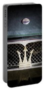 1972 Maserati Ghibli Grille - Hood Emblems Portable Battery Charger