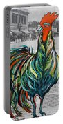 A Well Read Rooster Portable Battery Charger