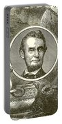 Abraham Lincoln Portable Battery Charger by English School