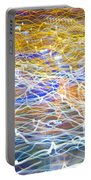 Abstract Background - Citylights At Night Portable Battery Charger