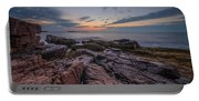 Acadia Rocky Sunrise Portable Battery Charger