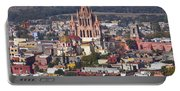 Aerial View Of San Miguel De Allende Portable Battery Charger