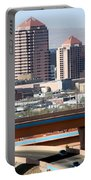 Albuquerque Skyline Portable Battery Charger