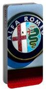 Alfa Romeo Emblem Portable Battery Charger