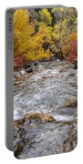 American Fork Canyon Creek In Autumn - Utah Portable Battery Charger