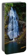 An Angel In The Falls Portable Battery Charger by Jeff Swan