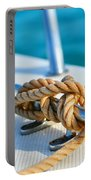 Anchor Line Portable Battery Charger by Laura Fasulo
