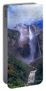 Angel Falls In Canaima National Park Venezuela Portable Battery Charger