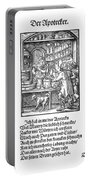 Apothecary, 1568 Portable Battery Charger