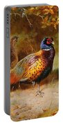 Autumn Covert Pheasants Portable Battery Charger