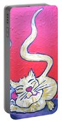Art Cat Portable Battery Charger