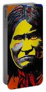 Art Homage Andy Warhol Geronimo 1887-2009 Portable Battery Charger
