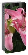 Asiatic Lily Named Vermeer Portable Battery Charger