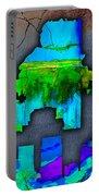 Atlanta Skyline Watercolor Portable Battery Charger