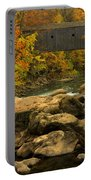 Autumn At Bulls Bridge Portable Battery Charger