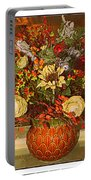 Autumn Blossoms Portable Battery Charger