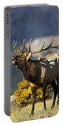 Autumn Bull Elk Bugling Portable Battery Charger