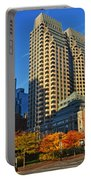 Autumn In Boston Portable Battery Charger