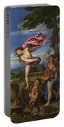 Bacchus And Ariadne Portable Battery Charger